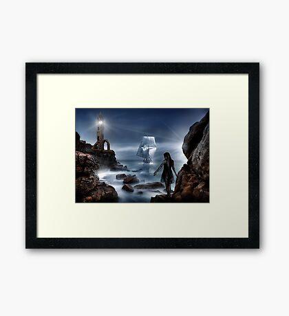 Smugglers Cove Framed Print
