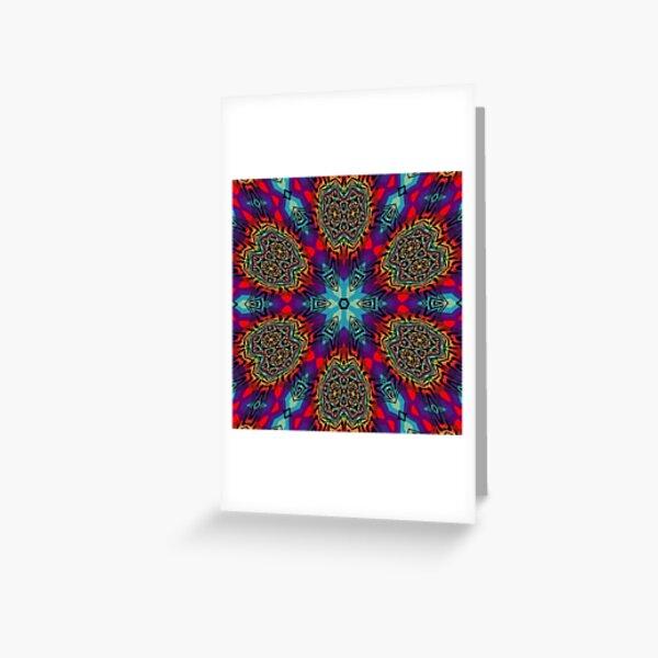 Motif, Visual Art Greeting Card