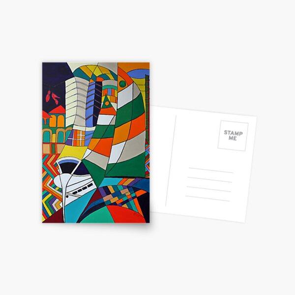 Caligari II - Miami Postkarte
