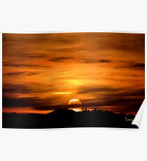 Sun Going Down Poster