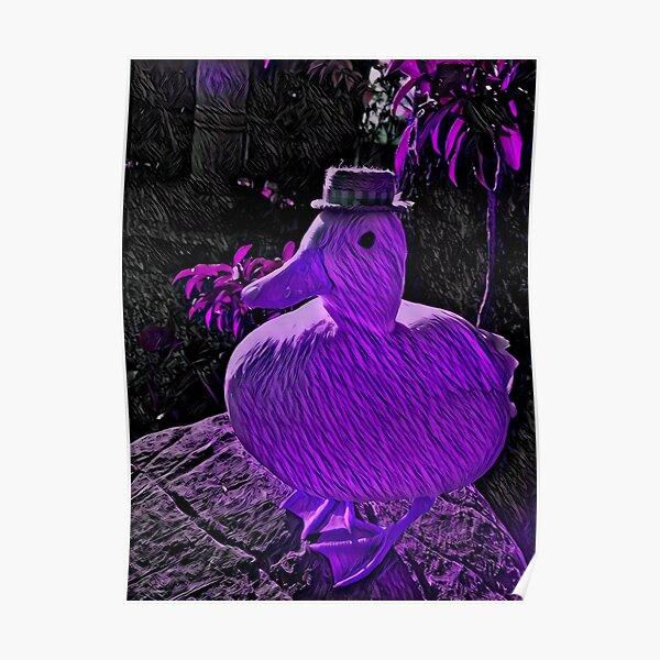 Mr. Duck, Blacklight Poster