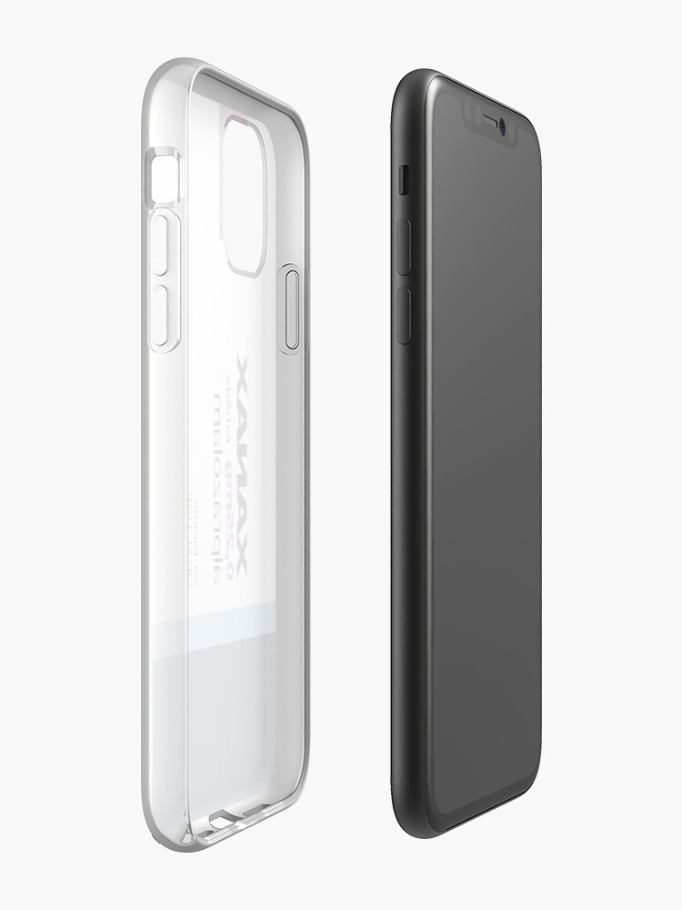 "iphone 6 lederhülle louis vuitton - ""XANAX"" iPhone-Hülle & Cover von odd2me"