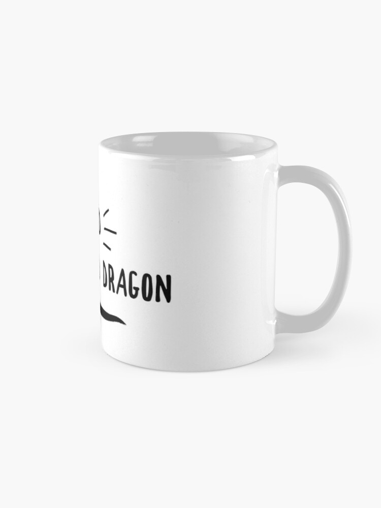 Alternate view of Owned By A Bearded Dragon Mug