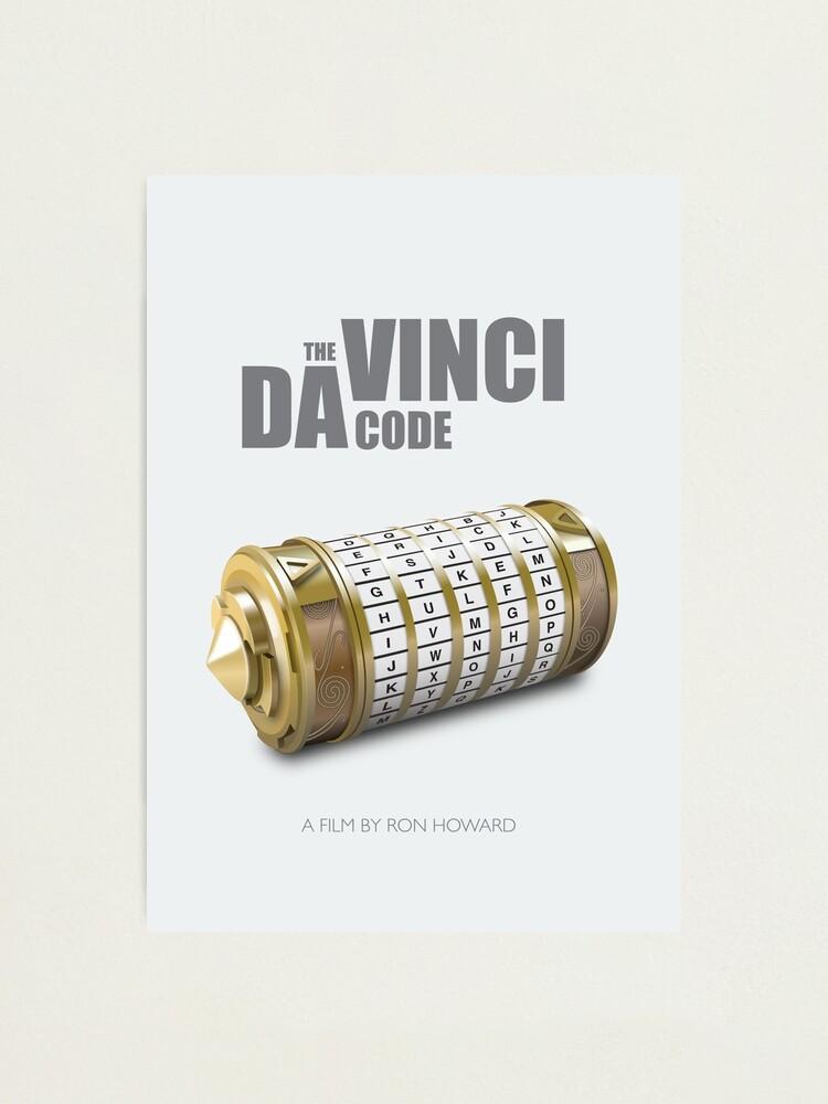 Alternate view of The da Vinci Code - Alternative Movie Poster Photographic Print