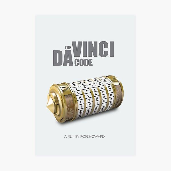The da Vinci Code - Alternative Movie Poster Photographic Print