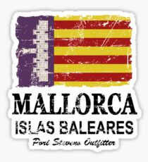 Majorca Flag - Vintage Look Sticker