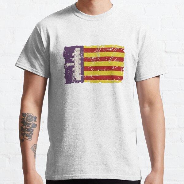 Majorca - Mallorca -  Flag - Vintage Look Classic T-Shirt