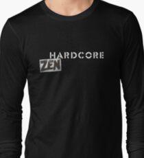 Hardcore Zen Logo Only T-Shirt or Hoodie Long Sleeve T-Shirt