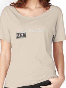 Hardcore Zen Logo Only T-Shirt or Hoodie Women's Relaxed Fit T-Shirt