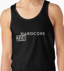 Hardcore Zen Logo Only T-Shirt or Hoodie Tank Top