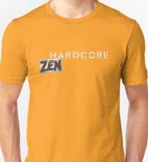 Hardcore Zen Logo Only T-Shirt or Hoodie Unisex T-Shirt