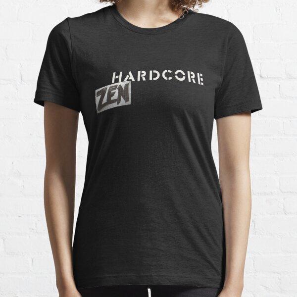 Hardcore Zen Logo Only T-Shirt or Hoodie Essential T-Shirt