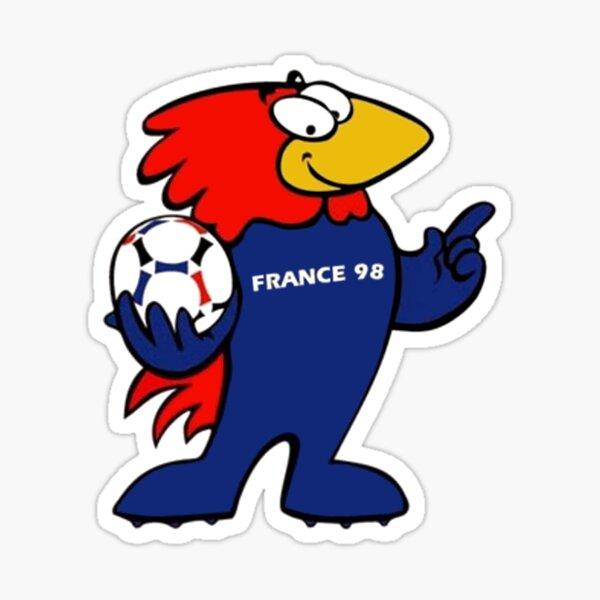 Frankreich '98 Weltmeisterschaft Sticker