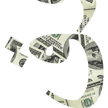 MONEY (نقود) PHONE CASE WHITE by alaskanpirate