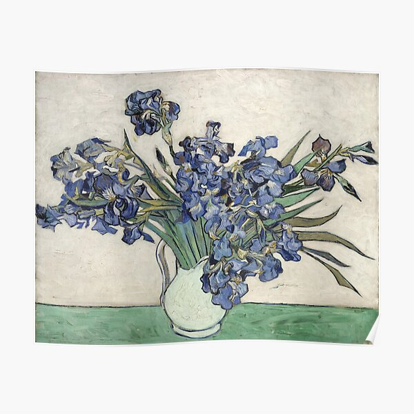 Van Gogh Flowers Poster