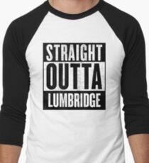 Straight Outta Lumbridge Men's Baseball ¾ T-Shirt