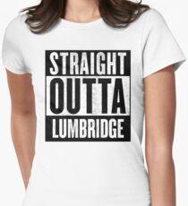 Straight Outta Lumbridge Women's Fitted T-Shirt