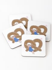 Crazy Ex Girlfriend West Covina Pretzel Coasters