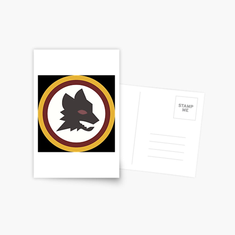 As Roma Old Logo Greeting Card By Crydra Redbubble