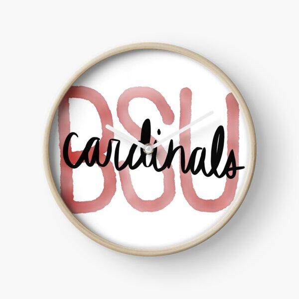 BSU Cardinals Clock