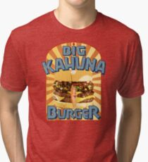 Big Kahuna Burger Fast Food Tri-blend T-Shirt