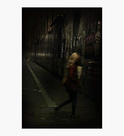 Into The Night... Photographic Print