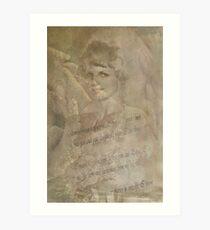 """My Dearest Mama.........."" Art Print"