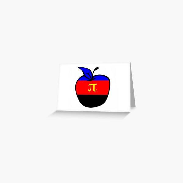 Polyamorous Apple Greeting Card