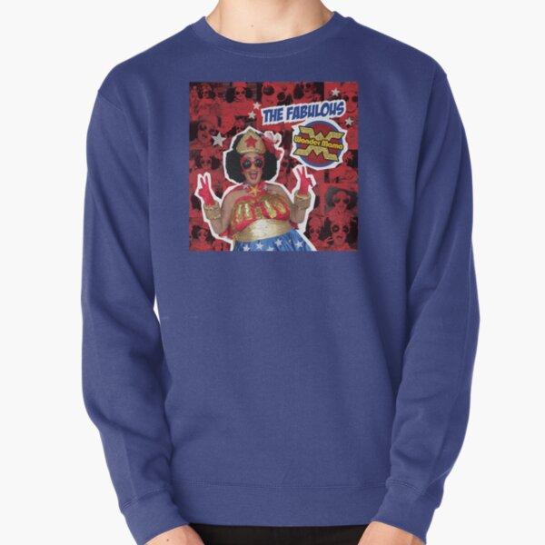 The Fabulous Wonder Mama Collage! Pullover Sweatshirt