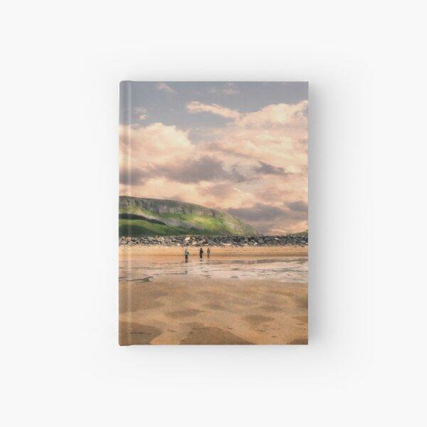 Sligo Strand Ireland Hardcover Journal
