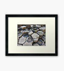 the Giant's rocks Framed Print
