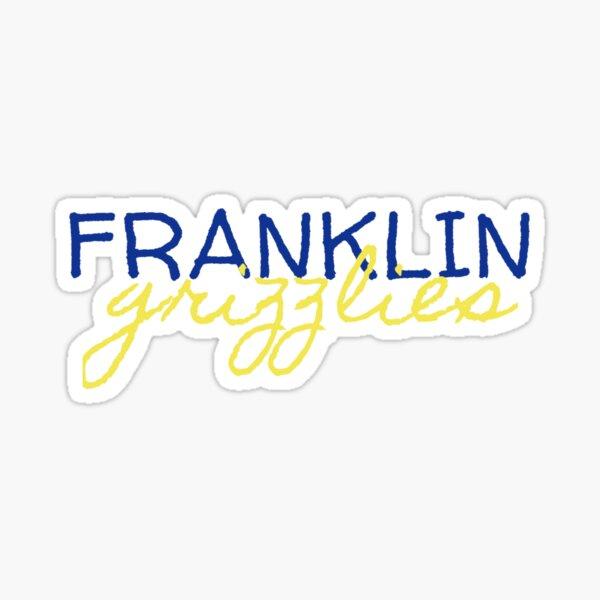 Franklin Grizzlies Sticker
