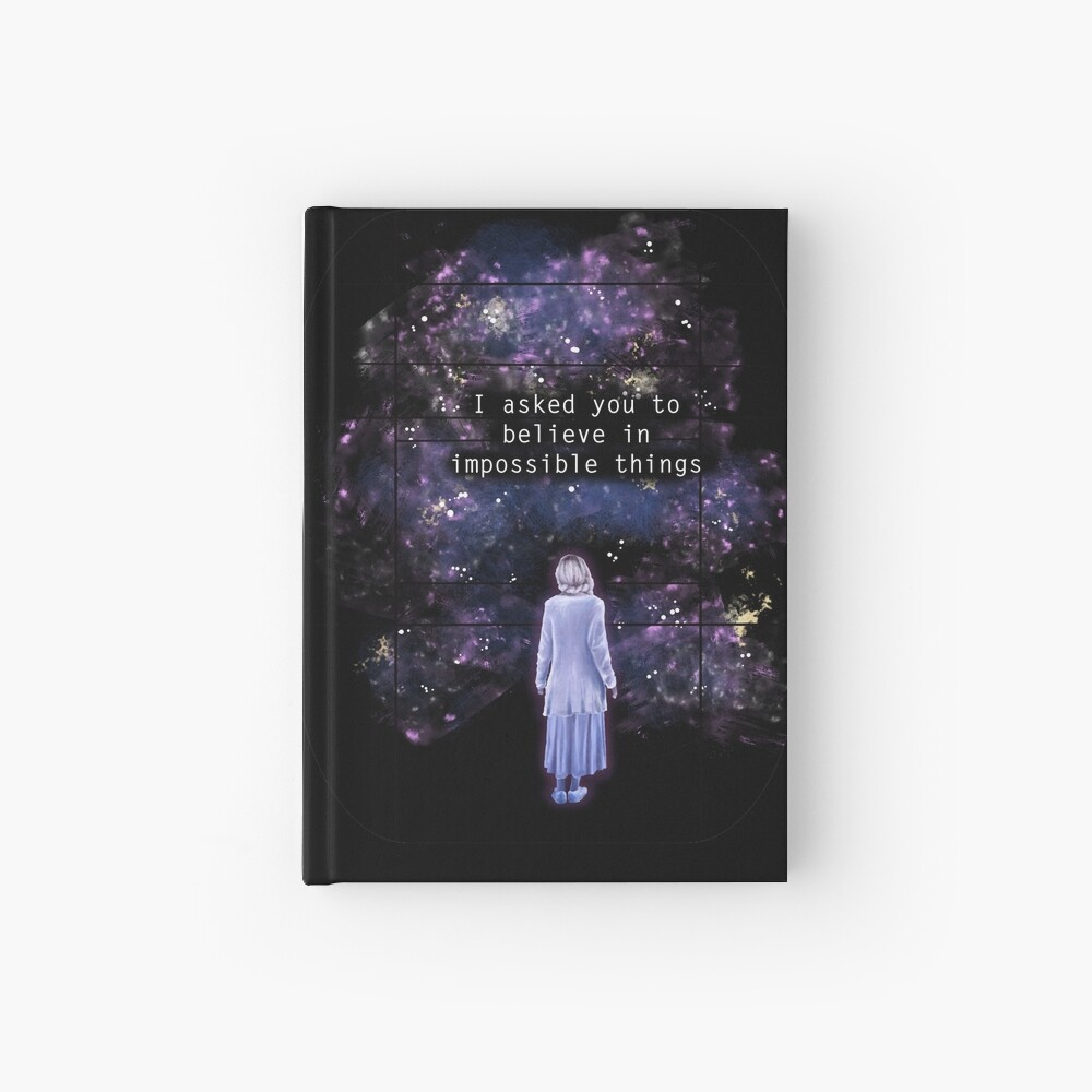 "The OA ""I asked you to believe in impossible things"" Hardcover Journal"