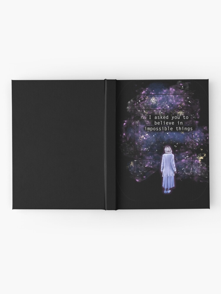 "Alternate view of The OA ""I asked you to believe in impossible things"" Hardcover Journal"
