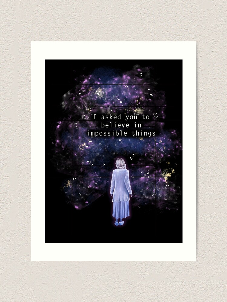 "Alternate view of The OA ""I asked you to believe in impossible things"" Art Print"