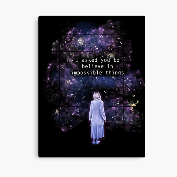 "The OA ""I asked you to believe in impossible things"" Canvas Print"