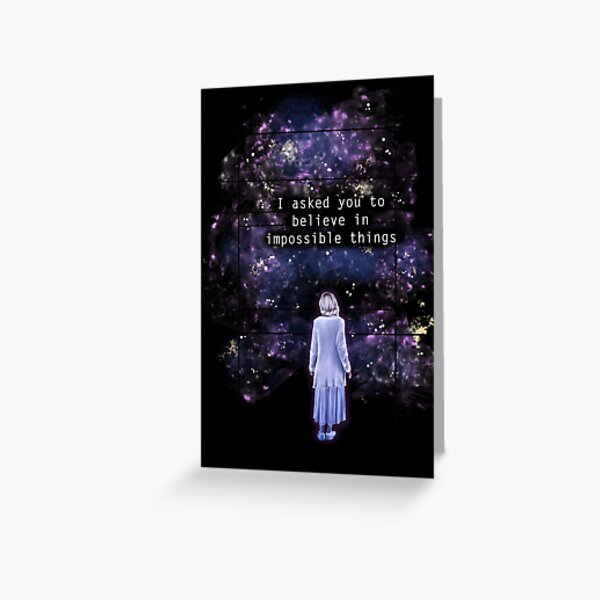 "The OA ""I asked you to believe in impossible things"" Greeting Card"