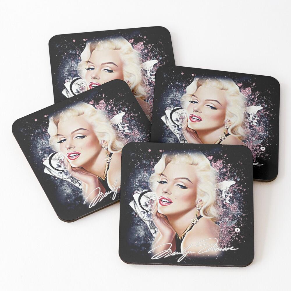 MM Glitter Coasters (Set of 4)
