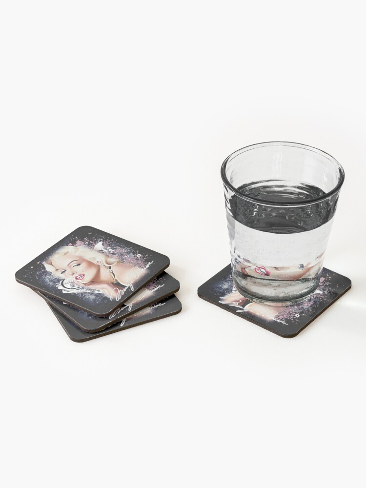 Alternate view of MM Glitter Coasters (Set of 4)