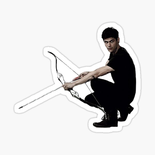 Alec Lightwood with his Bow Sticker