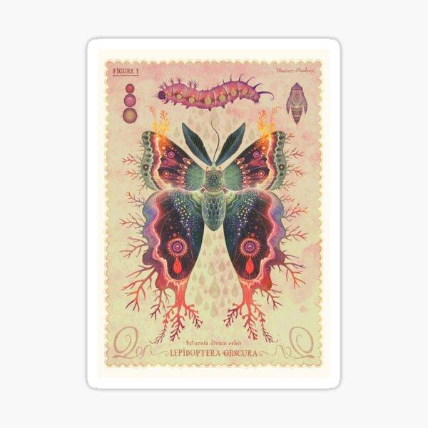 Saturnia divum orbis Sticker