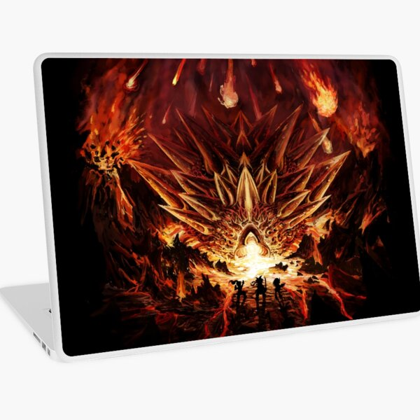 Chrono Trigger: Fire Rains from the Heavens [Chronicles of Time] Laptop Skin