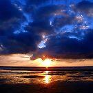 Atlantic Sunset - Biscarrosse by Samantha Higgs