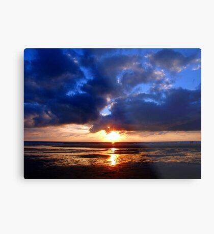 Atlantic Sunset - Biscarrosse Metal Print