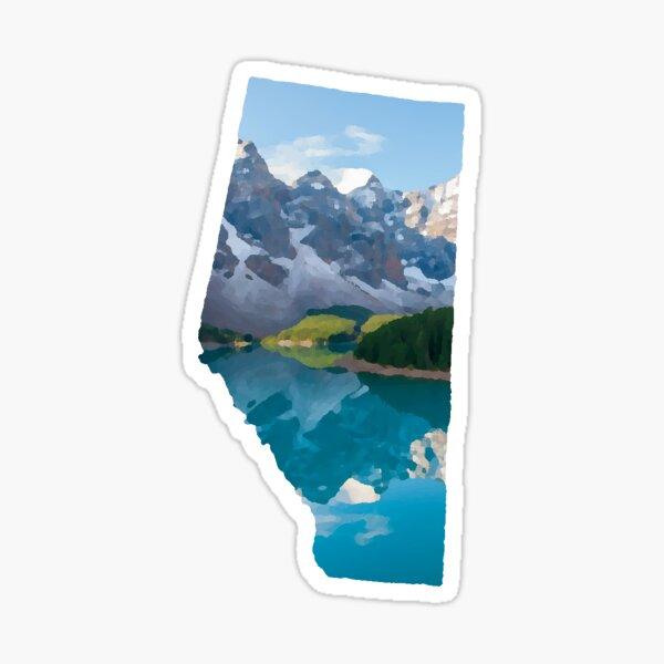 Alberta Sticker Sticker