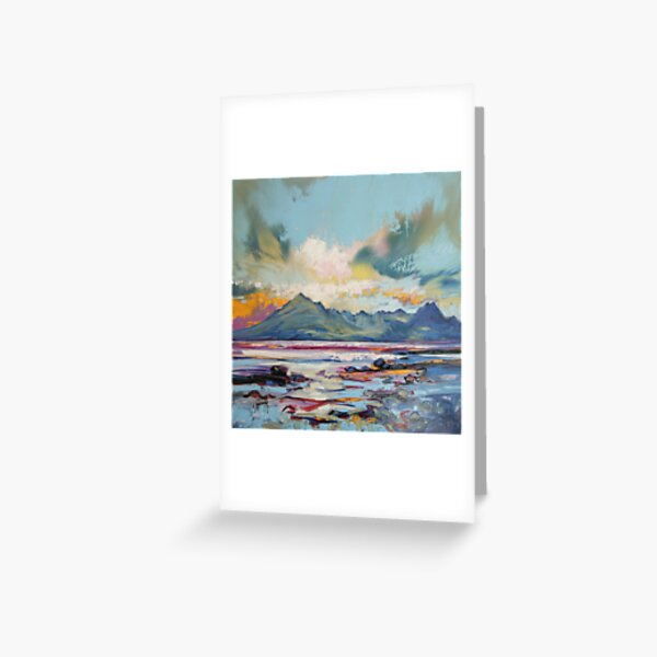 Cuillins from Elgol Greeting Card