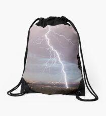 Summer Strikes Drawstring Bag