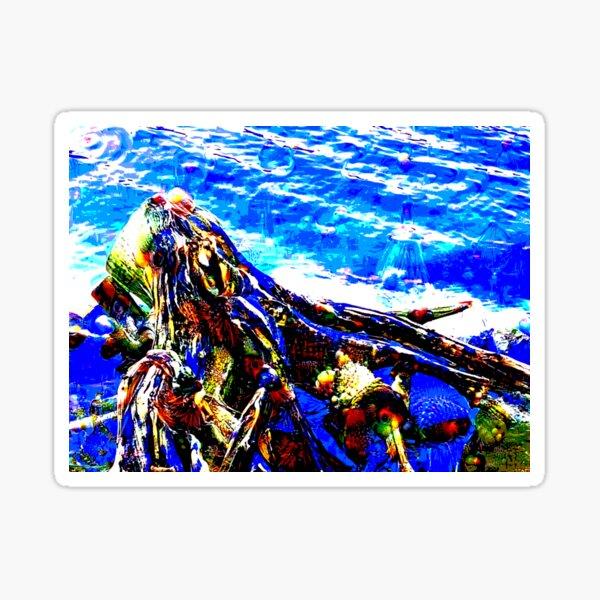 Lake Monster Sticker