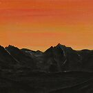 the Black Cuillins by Claire Watson