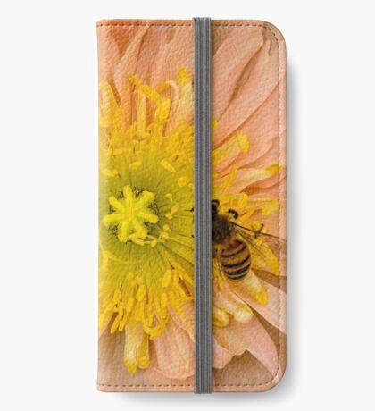 Glückliche Bienen iPhone Flip-Case